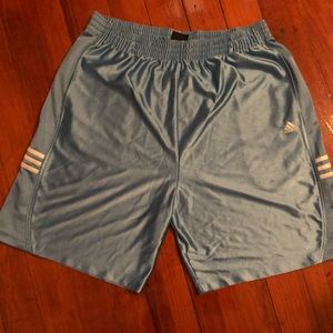 Men's blue basketball shorts